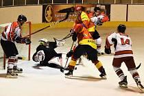 Hokejová příprava: HC Strakonice - Sokol Radomyšl 2:7.