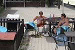 Nedělní odpoledne na volyňské plovárně.