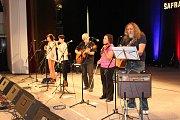 Skupina Šafrán oslavila 40 let existence.