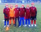 Odbočka přátel Slavia Praha ze Strakonic pořádala ve středu 26. prosince Na Křemelce sportovní odpoledne.