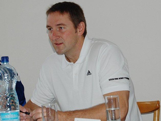 Manažer BK Strakonice Eduard Gaisler.