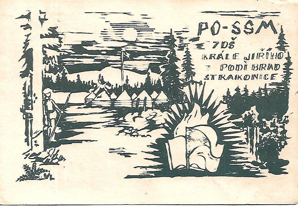 Pionýrský tábor Strašice.