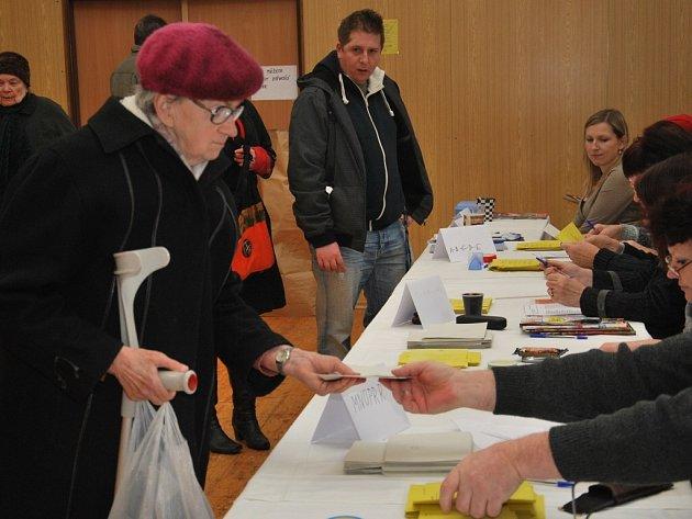 Druhé kolo prezidentských voleb na Strakonicku