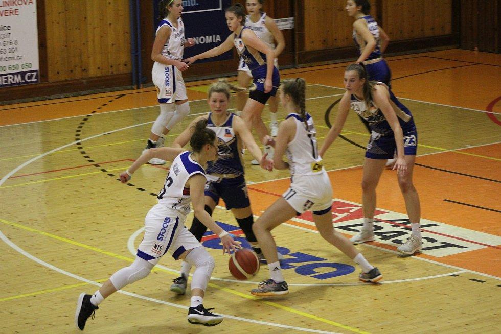 Renomia ŽBL: BK Strakonice - Levhartice Chomutov 51:82.