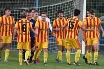 Fotbalový krajský přebor: Junior Strakonice - Týn 5:1.