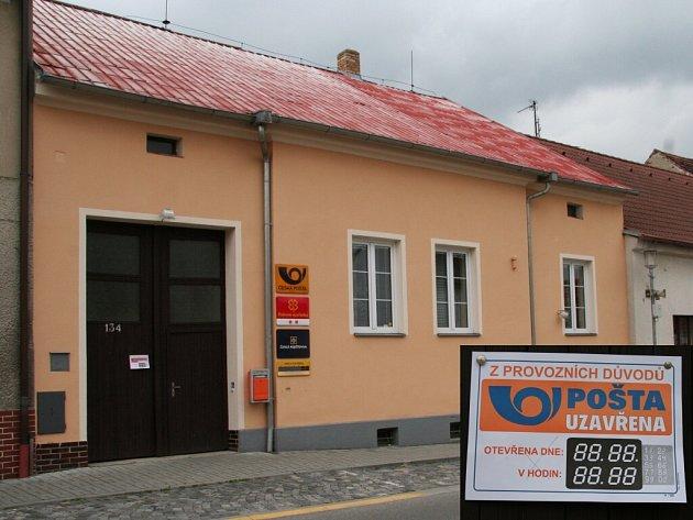 Přepadená pošta v Katovicích