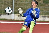 Aneta Bačová v akci.