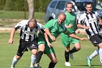 Fotbalová I.B třída: Dražejov - Prachatice B 5:0.