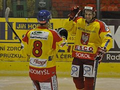 Radomyšl porazila Tábor na samostatné nájezdy a nakonec vyhrála 3:2.
