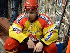 Radomyšl podlehla Milevsku na nájezdy. Na snímku je smutný Ondřej Gába.