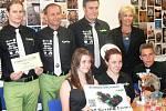 Vítězný ST Racing Team na radnici.