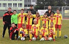 Béčka žáků Junioru Strakonice odstartovala novou sezonu.