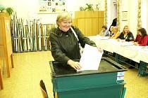 Ve Strakonicích přišlo ke komunálním volbám 40,87 procent lidí.