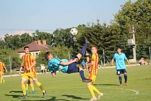 Fotbalová příprava: Katovice - Strakonice 8:1.