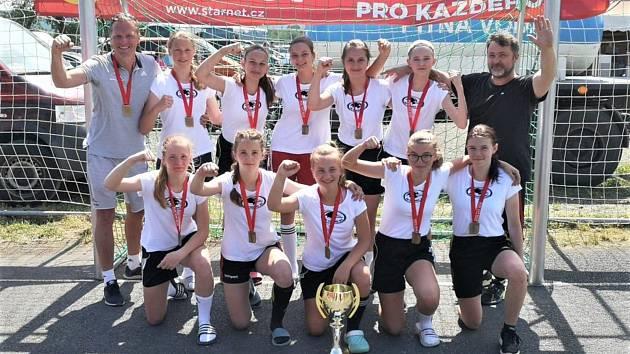 Starší žákyně HBC Strakonice ovládly turnaj v Lázních Kynžvart.