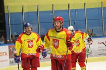 Hokejisté Radomyšle vyhráli ve Vimperku 6:2.