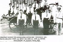 Hasiči v záboří byli založeni v roce 1888.