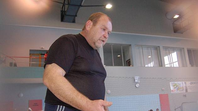 Trenér Jaroslav Bartůněk