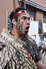 Taneční a hudební skupina z Nového Zélandu Whakaari Rotorua