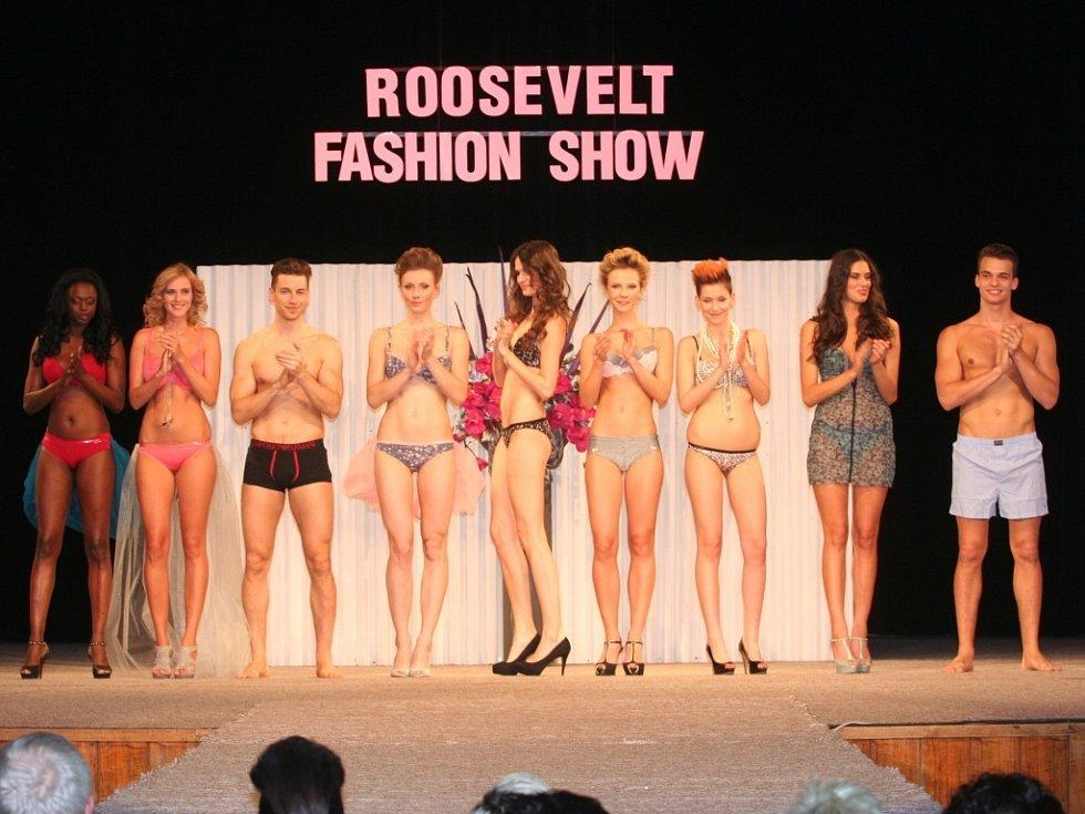 Módní přehlídka Roosevelt Fashion Show ve Strakonicích.