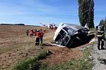 Nehoda, při které zahynul řidič osobního vozu, uzavřela komunikaci I. třídy na Strakonicku.