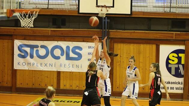 Strakonické basketbalistky podlehly Hradci Králové 41:91.