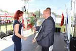 Do Čejetic na Strakonicku si v pátek 9. srpna 2019 přijeli vítězové soutěže Jihočeská vesnice roku 2019 pro své stuhy a ocenění.