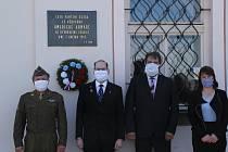 Na 75. výročí osvobození v Sedlici nezapomněli.