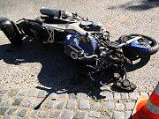 Poslední rozloučení s motorkářem Mírou