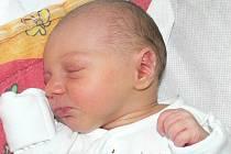 Ondřej Tyburec, Čejetice, 24.10. 2013 v 8.43 hodin, 2900 g. Malý Ondřej je prvorozený.