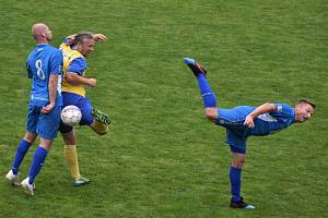 Fotbalový OP Strakonicka: Blatná B - Junior Strakonice B 1:7.