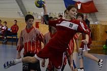 Tomáš Nejdl (na snímku) patřil k oporám Strakonic ve 2. kole Žákovské ligy, celkem nastřílel dvacet gólů. Stejně úspěšný byl i Matěj Kosák.