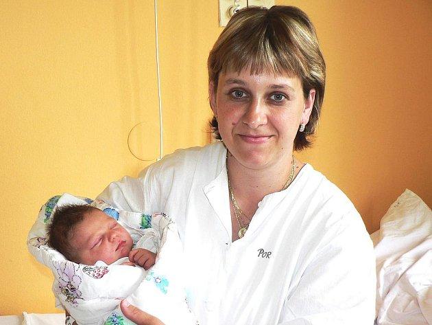 Michal Hokr, Katovice, 7.6.2009 v 16.05 hodin, 4000 g a 54 cm.
