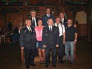 Společenský hasičský večer v Čejeticích.