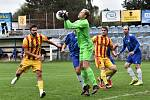 Fotbalový KP: Junior Strakonice - Sokol Sez. Ústí 2:0.