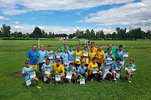 Mladí fotbalisté absolvovali zdařilý kemp.
