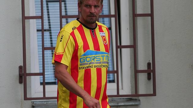 Jan Zušťák hattrickem rozhodl o vítězství Strakonic 3:1 nad Lokomotivou České Budějovice.