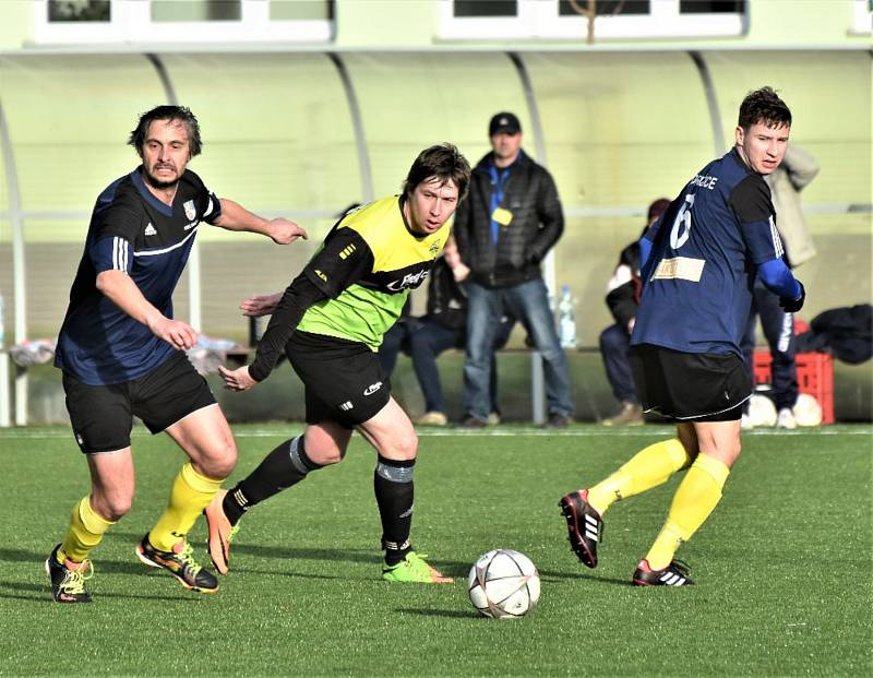 Fotbalový KP: Osek - Dražice 4:1.