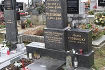 Hrob Zdeňka Podskalského v Malenicích.