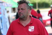 Předseda strakonické odbočky Odboru přátel SK Slavia Praha Miloš Sedláček.