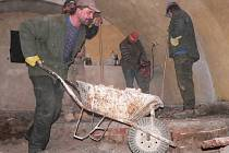 Rekonstrukce Hradního sklípku