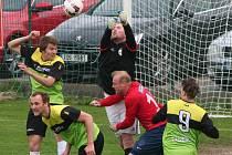 Osečtí fotbalisté doma podlehli Čimelicím 0:2.