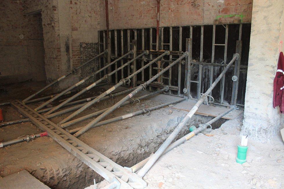 Rekonstrukce KD Strakonice.
