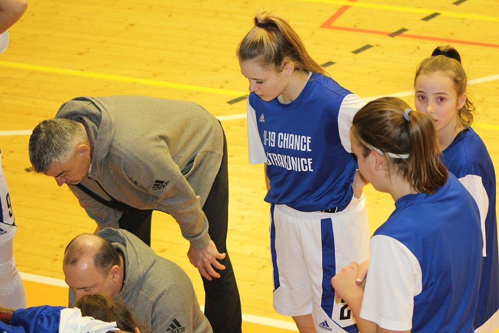 Basketbalová ŽBL: BK Strakonice - Žabiny Brno 40:83.