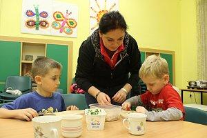 Rodinné centrum Beruška Strakonice pořádá pro děti kurzy zdravého vaření již několik let.