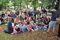 V sobotu 17. srpna v Rennerových sadech ve Strakonicích byl připraven pro rodiny s dětmi odpolední program plný tvoření, dobrot i bramborová pohádka potěšila obecenstvo.