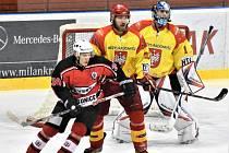 Víkend okoření hokejové derby HC Strakonice - Sokol Radomyšl. Ilustrační foto.