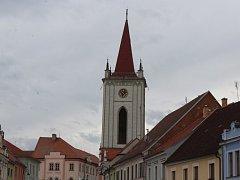 Kostel Nanebevzetí Panny Marie najdete v horní části  třídy J.P. Koubka