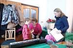 Bábinky z Radomyšle oslavily Mezinárodní den žen.