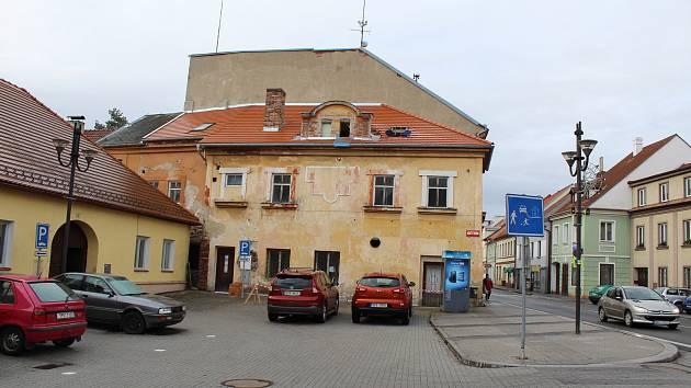 Město Volyně.